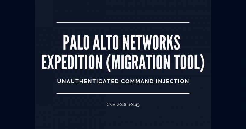 Command Injection on Palo Alto Networks Expedition – Dodd Security